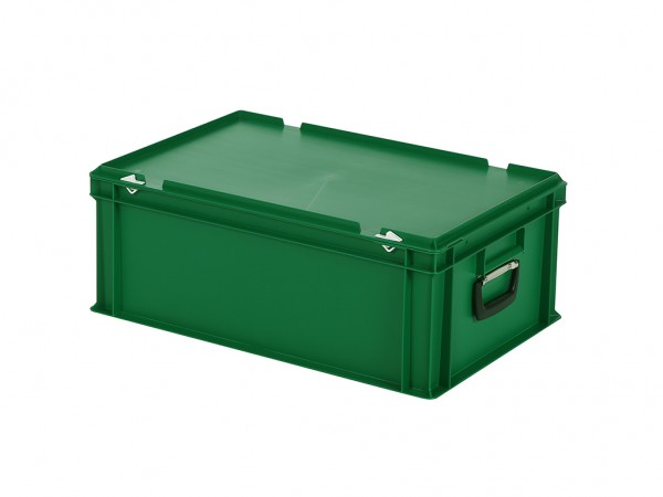 Koffer - 600x400xH235mm - groen