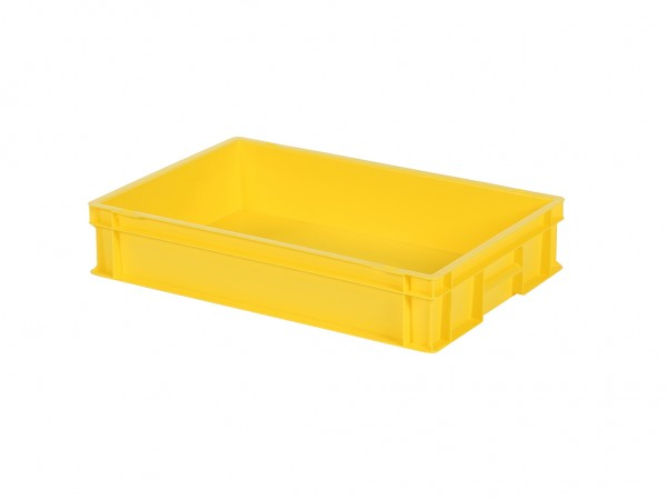 Stapelbak - 600x400xH120mm - geel