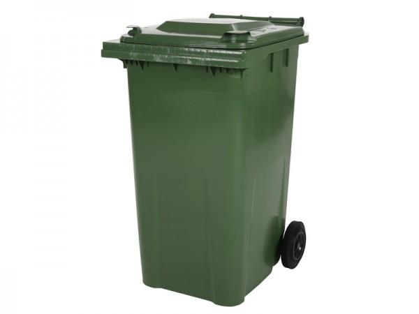 2-wiel afvalcontainer - 240 liter - groen