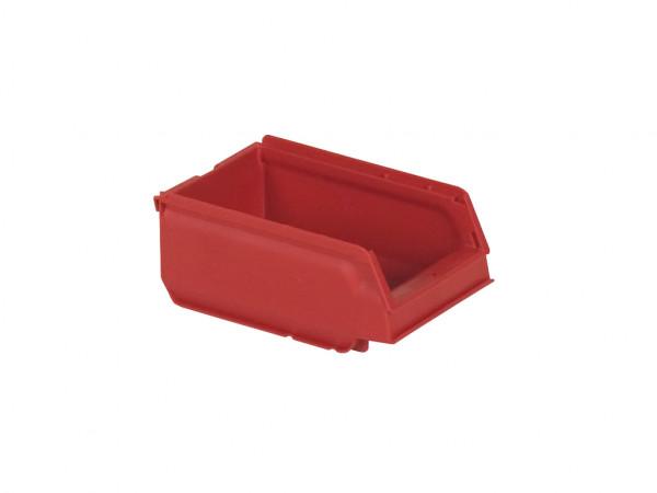 Kunststof magazijnbak - 170x105xH75mm - rood
