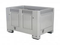 Palletbox - 1200x800mm - op 4 poten - grijs 4403.100.554