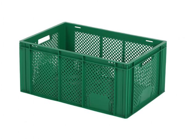 Stapelkrat - 600x400xH274mm - groen
