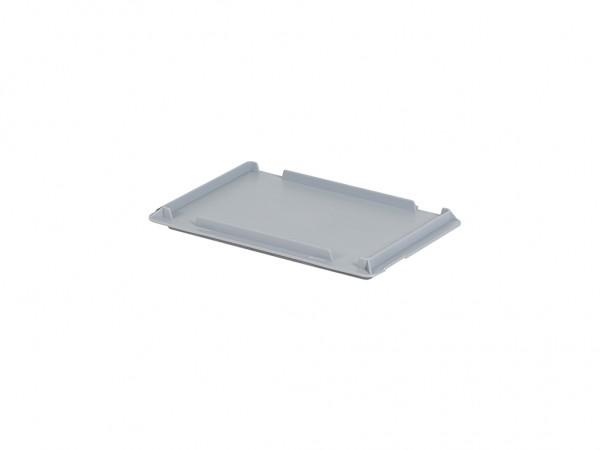 Kunststof scharnierdeksel 300x200mm - grijs