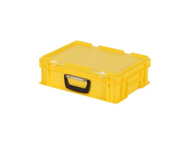 Koffer - 400x300xH133mm - geel