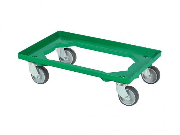 Kunststof dolly - 600x400mm - groen