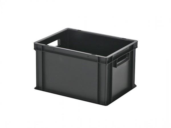 Stapelbak / Bordenbak - 400x300xH236mm - zwart
