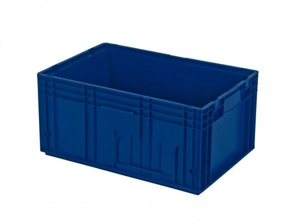 VDA RL-KLT 6280 stapelbak - 594x396xH280mm - blauw