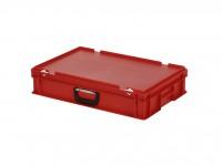 Koffer - 600x400xH135mm - rood