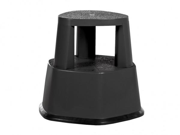 Opstap rolkruk - 480xH430mm - zwart
