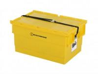 Batterijbox - 600 x 400 x H300 mm - geel 1311.851.355UN