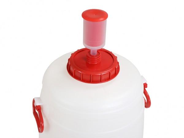 Ontluchtingsventiel - voor kunststof vaten