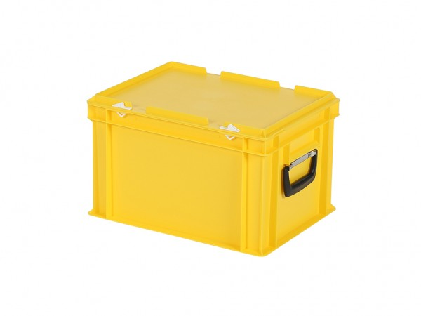 Koffer - 400x300xH250mm - geel