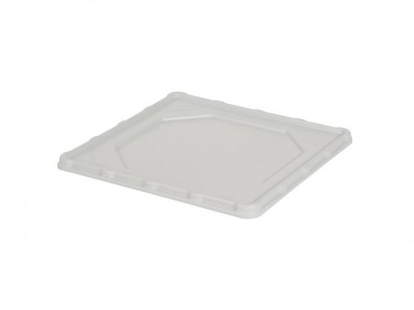 Kunststof buffet lekbak - vaatwaskorven 500x500mm - grijs